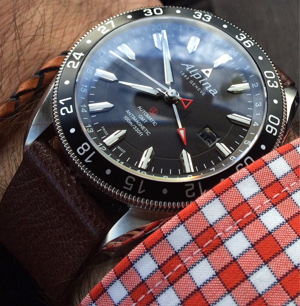 My New Alpiner GMT Page - Alpina gmt