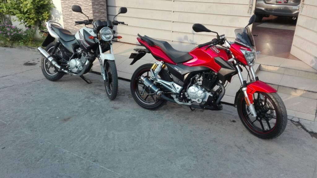 The Red Yamaha YBR 125 - 1c2234212ecdf0875ff418a25a700a6c