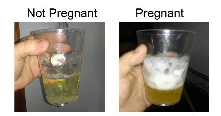 Film pregnant peeing