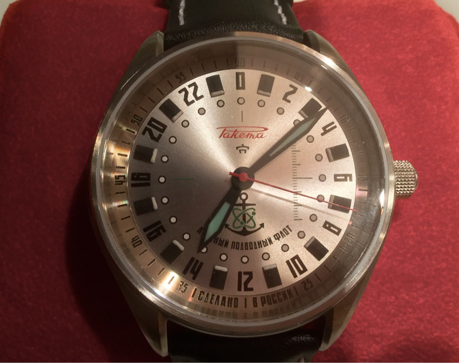 1f30b8489b9 Questions re Currently Producted Raketa 24 hr