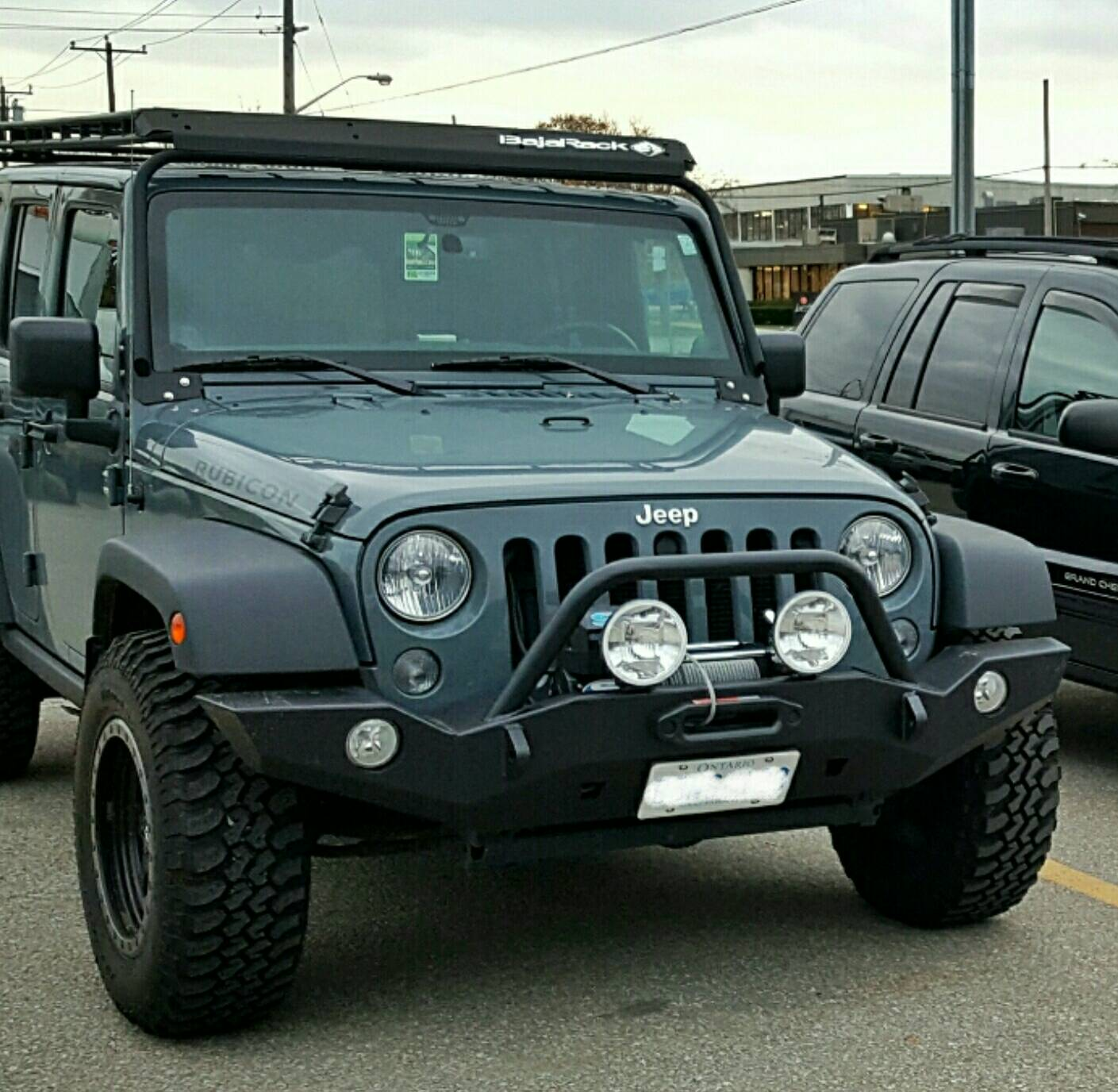 Front Bumpers W License Plate Attached Jeep Wrangler Forum