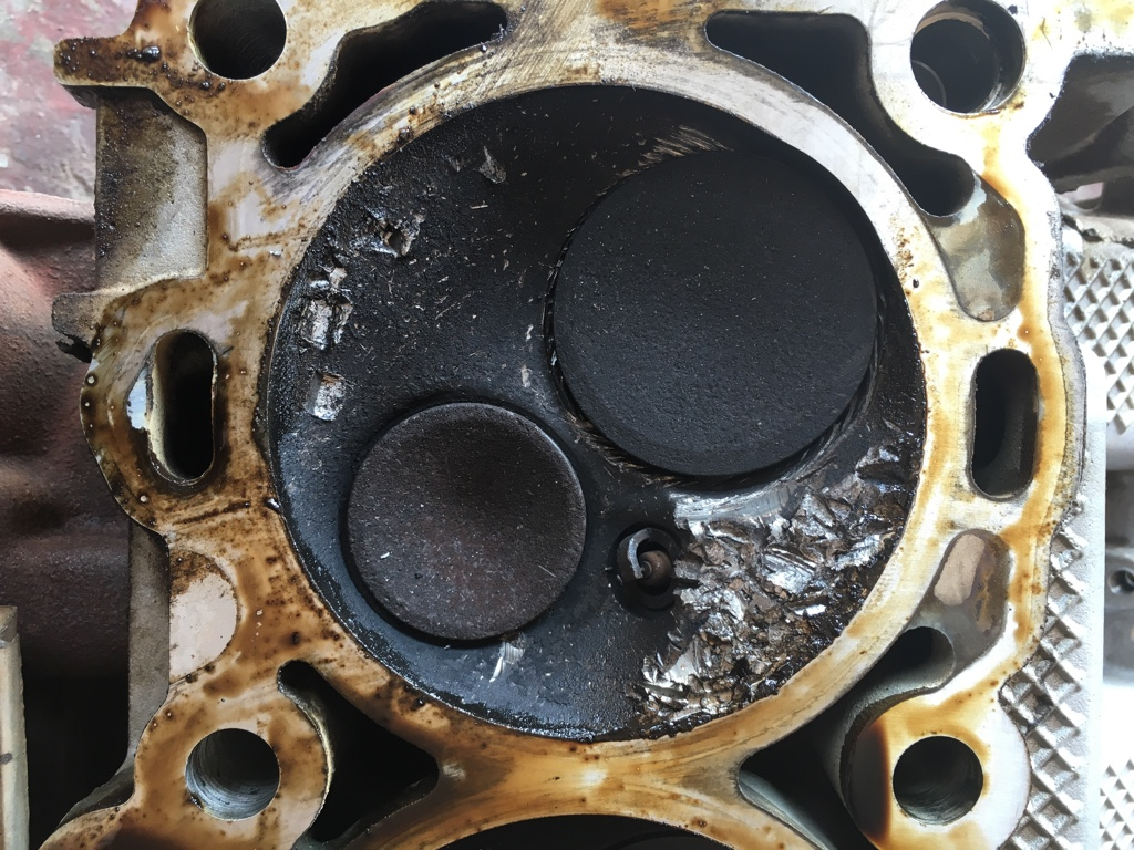 2016 Jeep Grand Cherokee Overland >> Grand Cherokee What dropped valve seat damage looks like