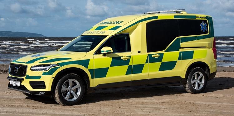 Xc90 Ambulance >> Nilsson Ab Launches Xc90 Ambulance