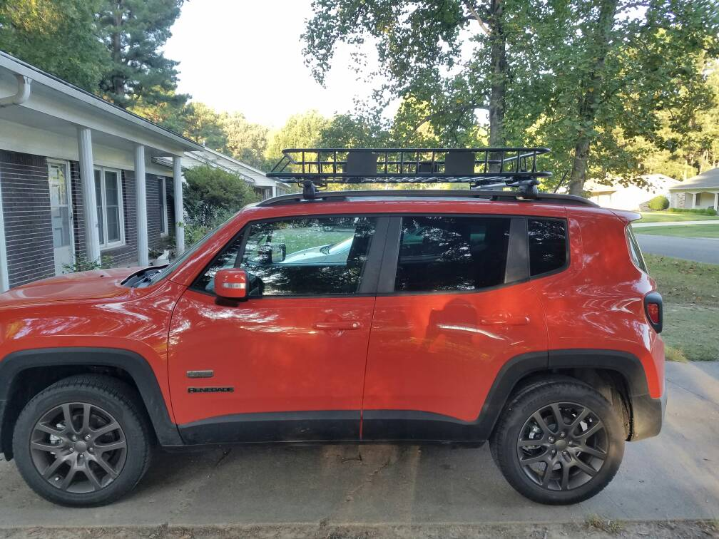 Curt Roof Rack Installed Jeep Renegade Forum