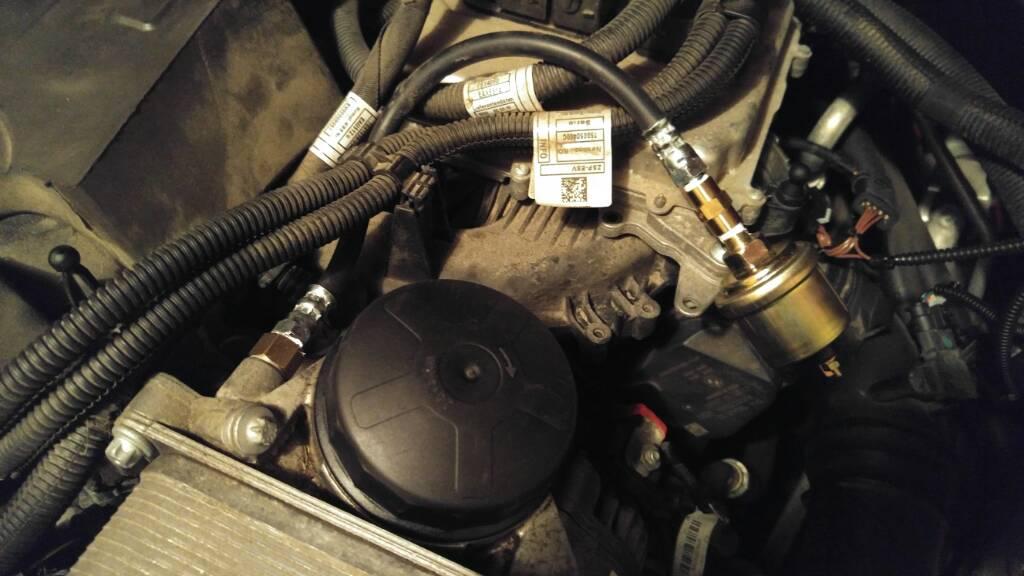 F30 N20 oil pressure/temp sensor location? - Bimmerfest