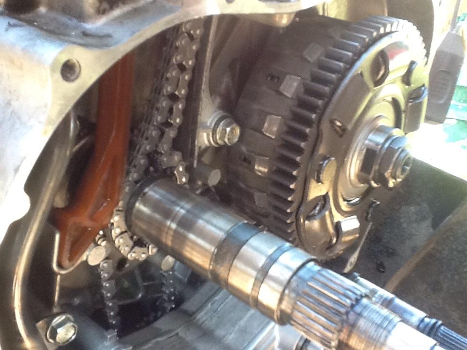 2005 Rincon cam chain reassembly - Honda Rincon Forum