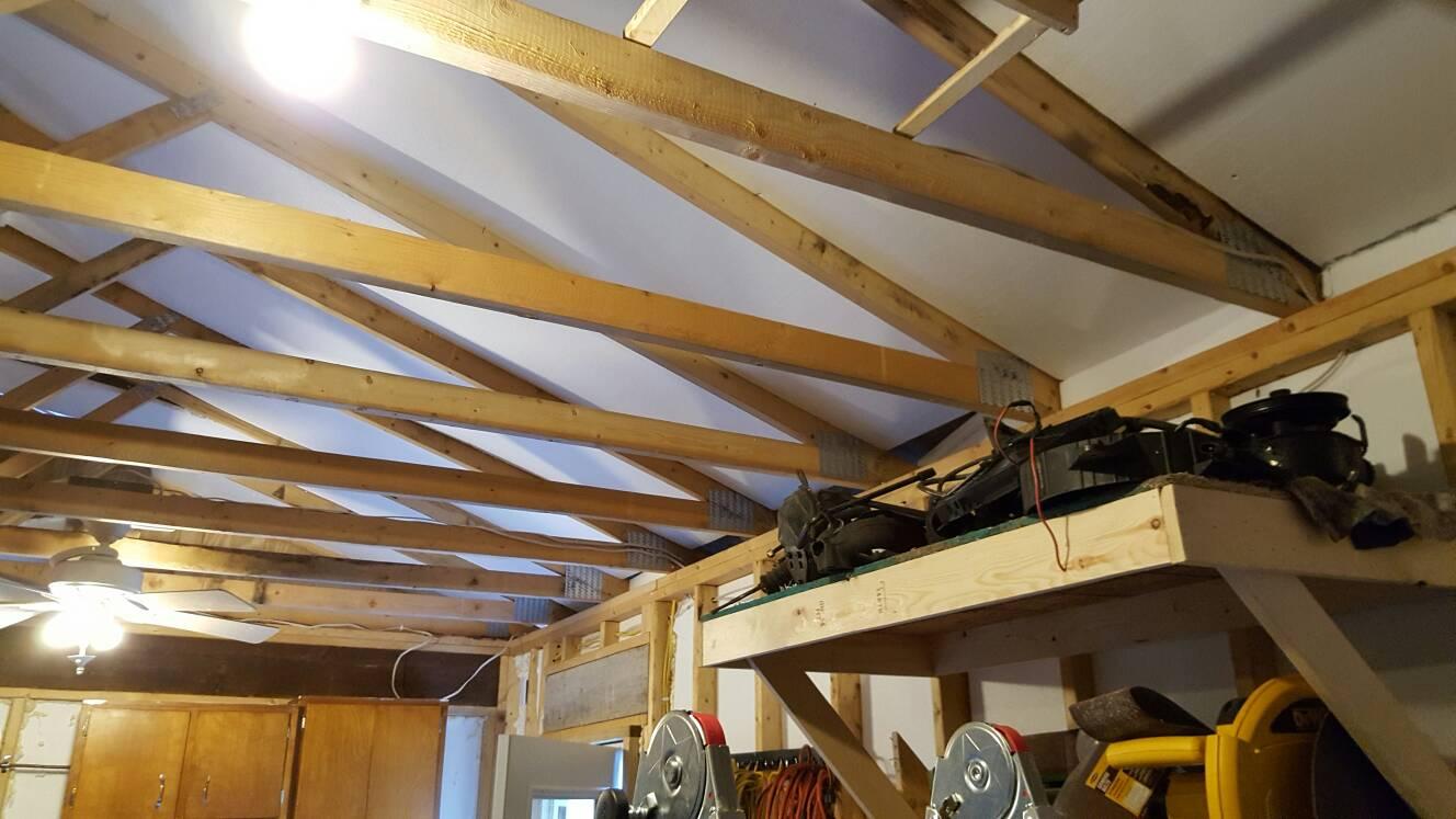 Garage Truss - Attic Storage Weight - The Garage Journal Board