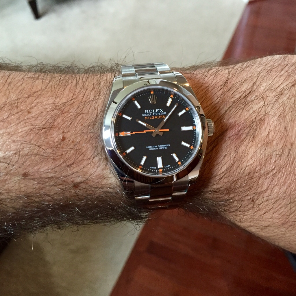 First Rolex Watch Milgauss, Black or White dial???! , Page
