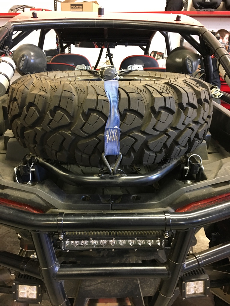 Spare Tire Mount Needed And Side Mirrors Polaris Rzr