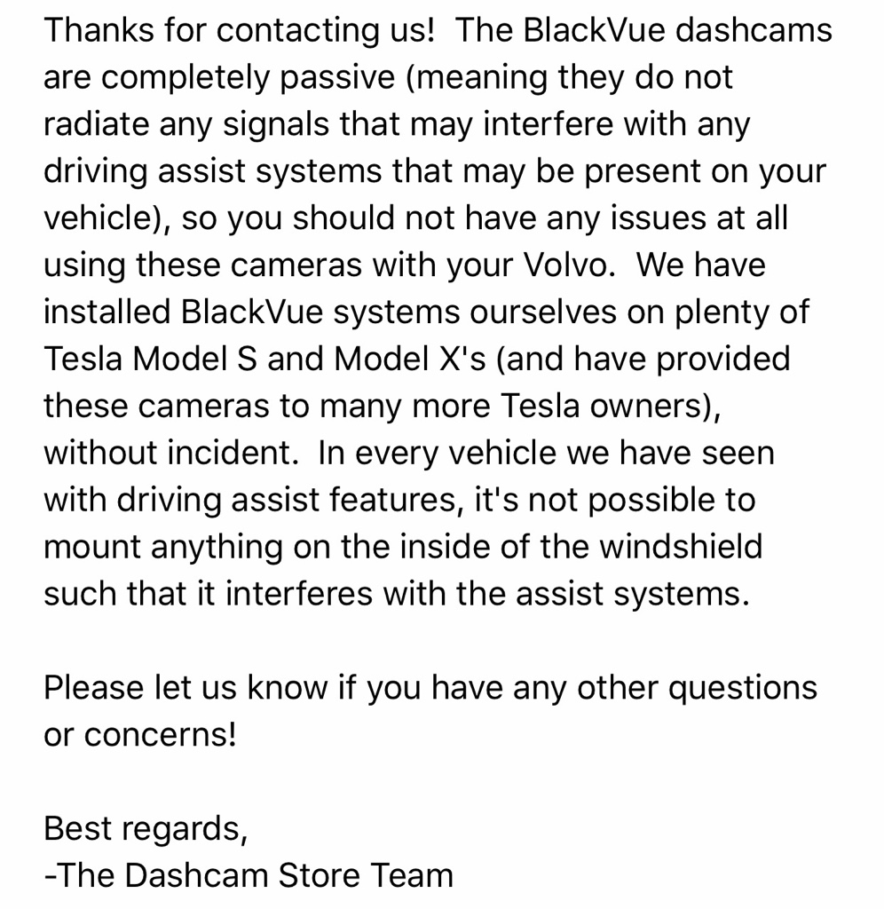 Dashcam Not Allowed Near Rearview Mirror 2010 Volvo Xc90 Fuse Diagram I Contacted The Store And Asked About Ability To Place Camera Top Center Of Windshield This Is Response Got