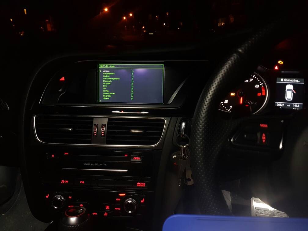 Increasing radio timeout | Audi-Sport net