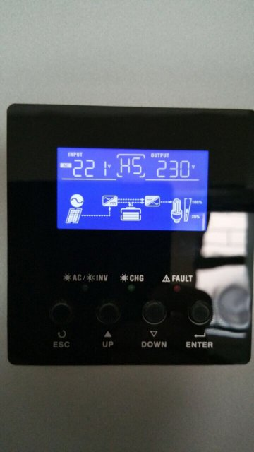 Axpert inverter output priority/ battery charge issue