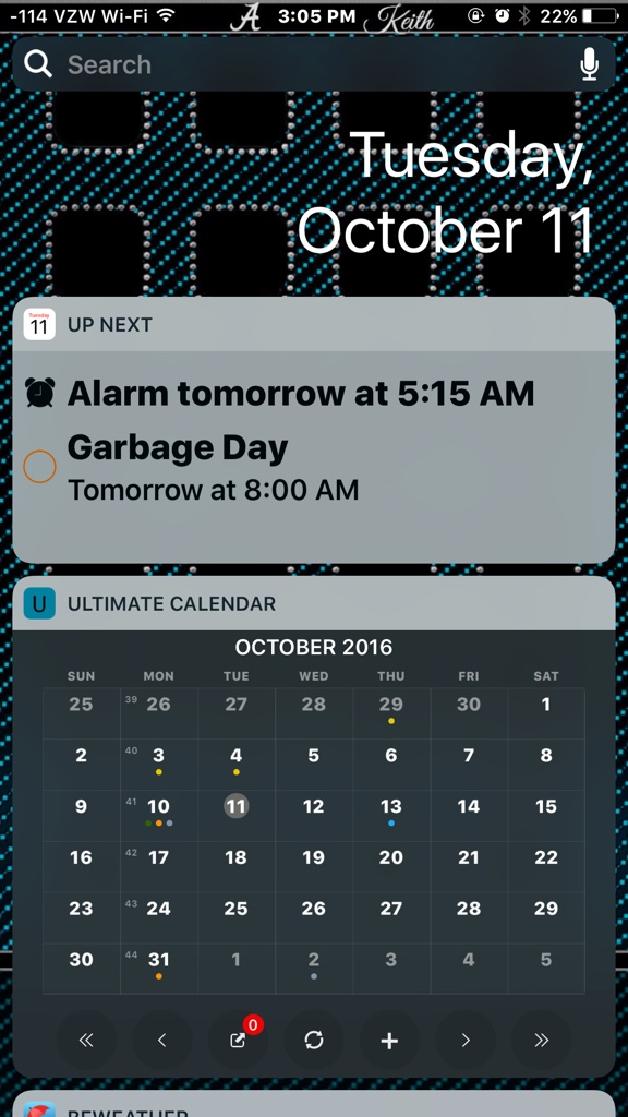 how to set up calendar on iphone 5