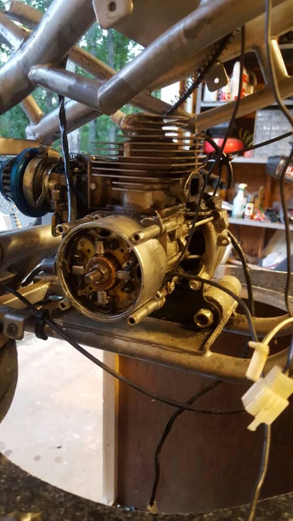 E Dca C F D B F F on 50cc Pocket Bike Frame