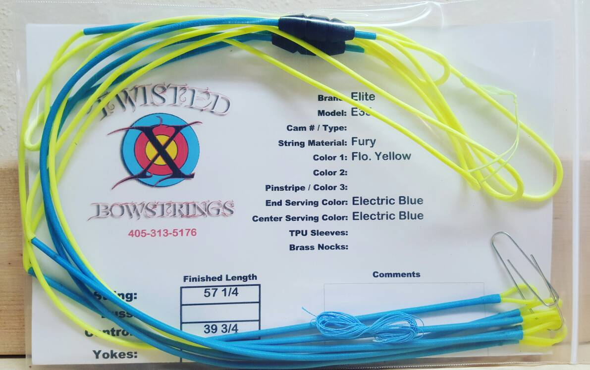 Twisted X Bowstrings 20% off sale!!!