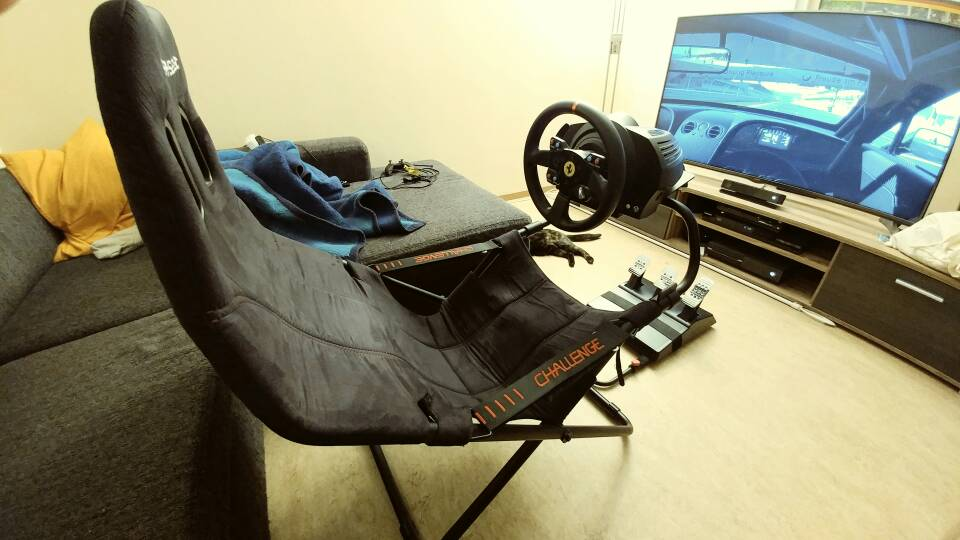 verkaufe thrustmaster tx gte lenkrad t3pa pedale. Black Bedroom Furniture Sets. Home Design Ideas