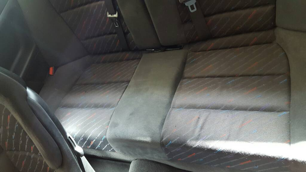 E36 Anthracite M Cloth Amaretta Seats F R