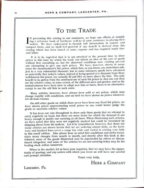 My 1919 Herr & company catalogue - The Garage Journal Board