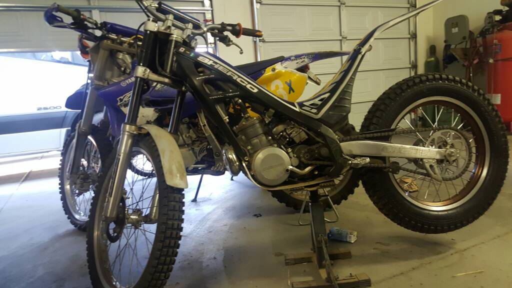 2006 sherco 300 hard to start cold only ??? any ideas