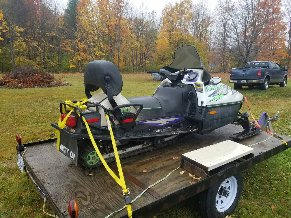 New Guy Looking For Info    1997 Ac Powder Extreme 600