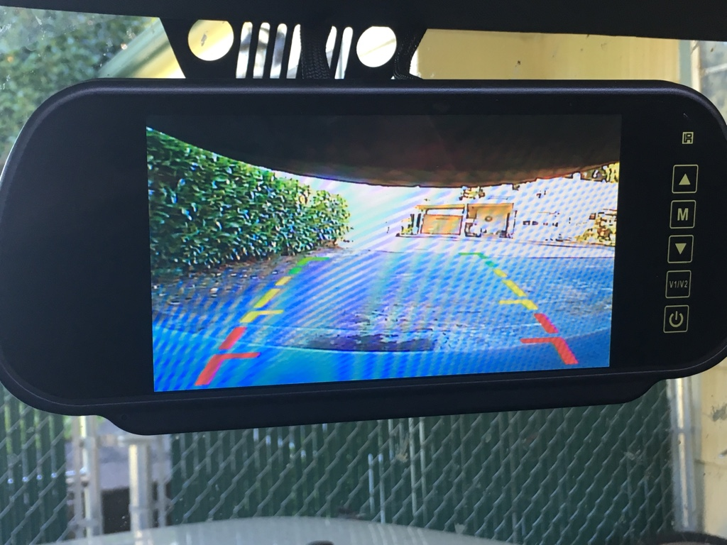 Rear View Mirror Full Time Camera Jeep Wrangler Forum
