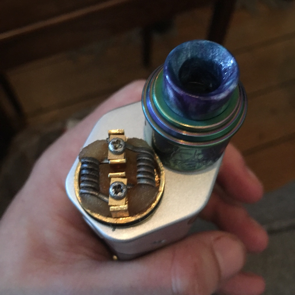 Goon Rda Vs Twisted Messes Vaping Underground Forums An Ecig Vapor Vape Authentic Lite 22mm Img Apocalypse