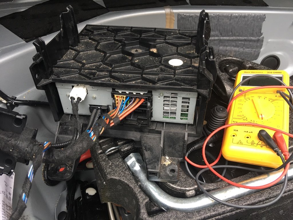 Amplifier Location And Wiring Diagram 2000 Audi S4 Speaker Found The Pins Out To Factory Sub 9 13