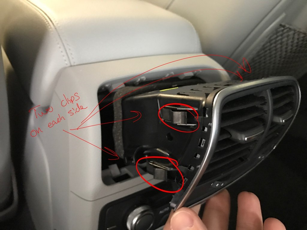 Remove Center Console and Center Trim for Audi A7 C7