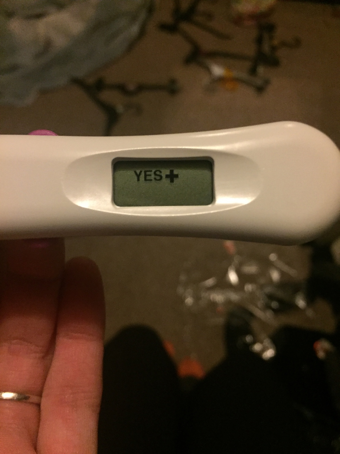 how to make a fake positive pregnancy test