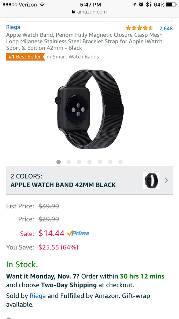 Best third party bands for Apple Watch - Page 2 - iPhone