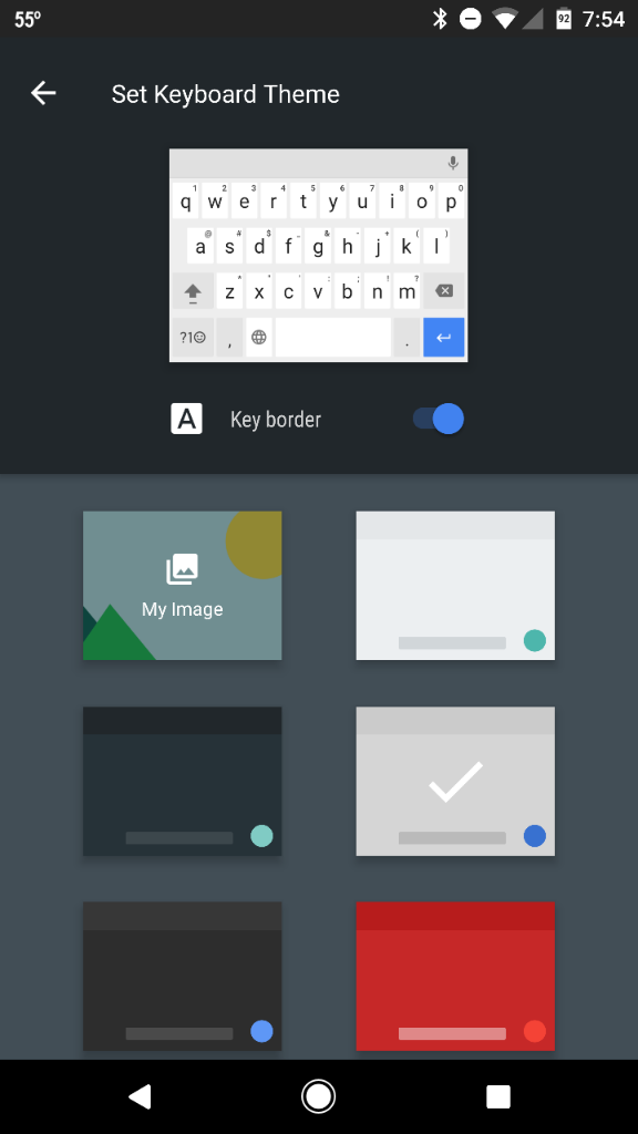 Google Pixel Keyboard (having trouble typing without