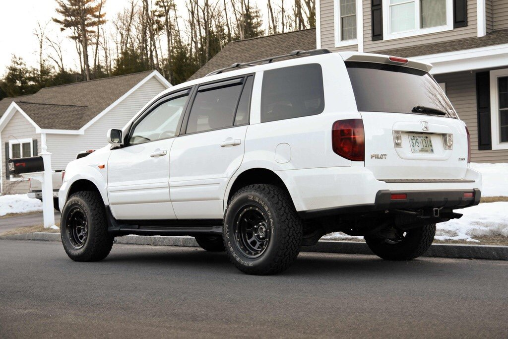Lifted Pilot Thread Honda Pilot Honda Pilot Forums