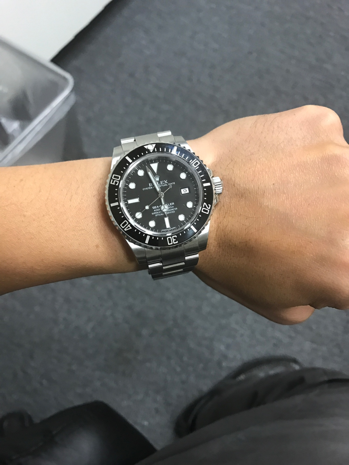Rolex Submariner on Small Wrists , Page 3 , Rolex Forums