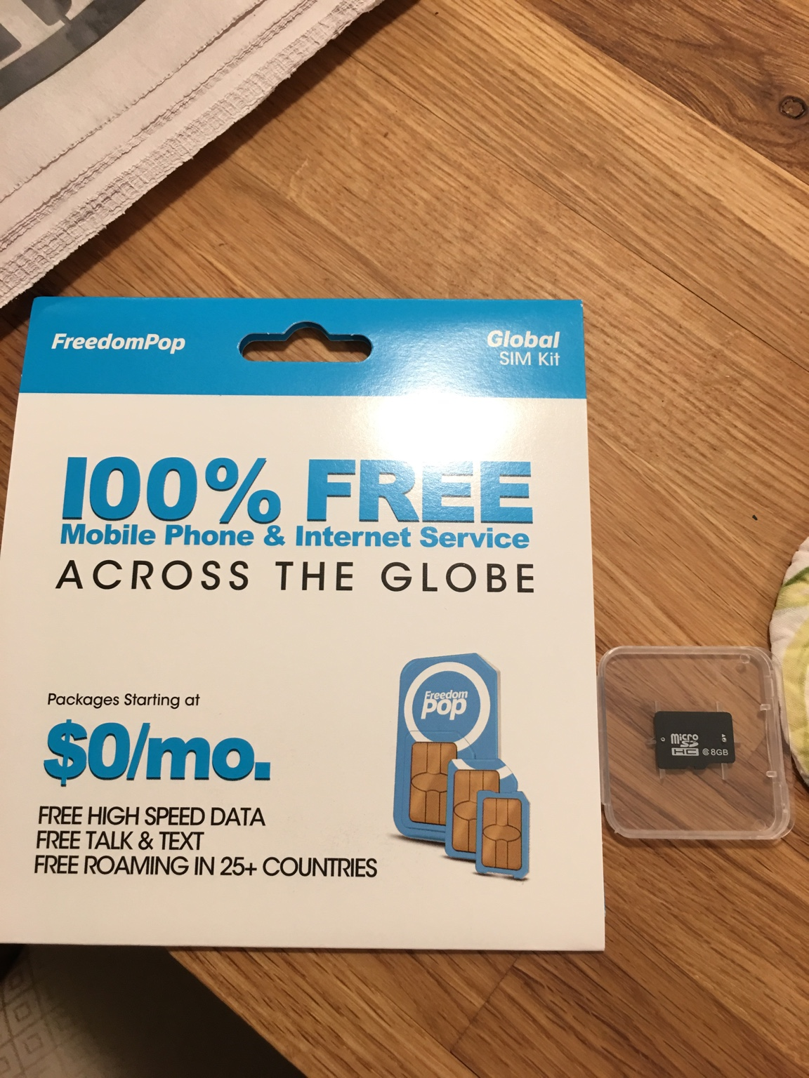 Freedompop Sim Card For Audi Connect