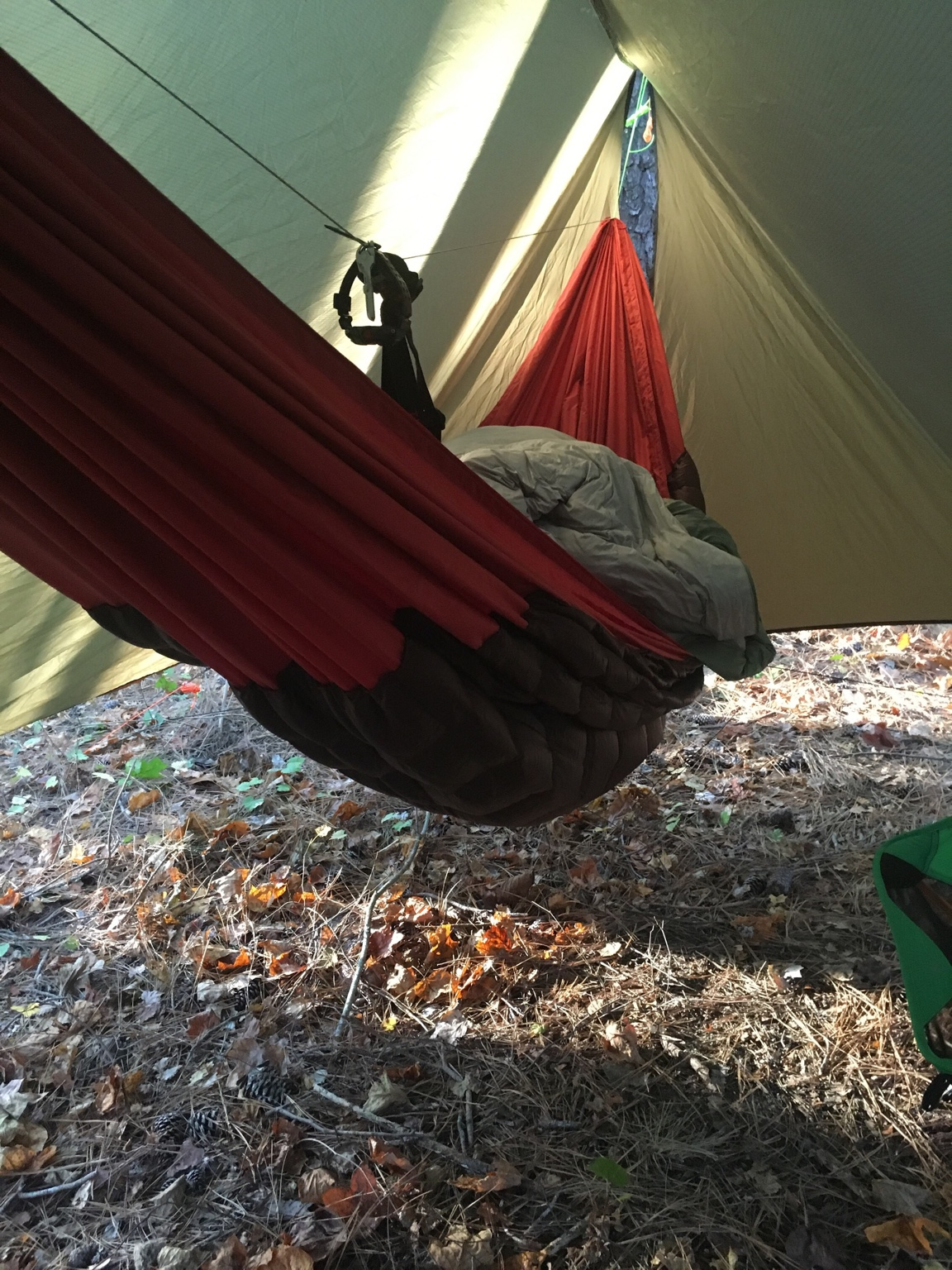 i had this rig up last weekend and it took me to 43  its a sewn on costco quilt to a double layer polyd 1 2  show off your diy costco quilts   page 23  rh   hammockforums
