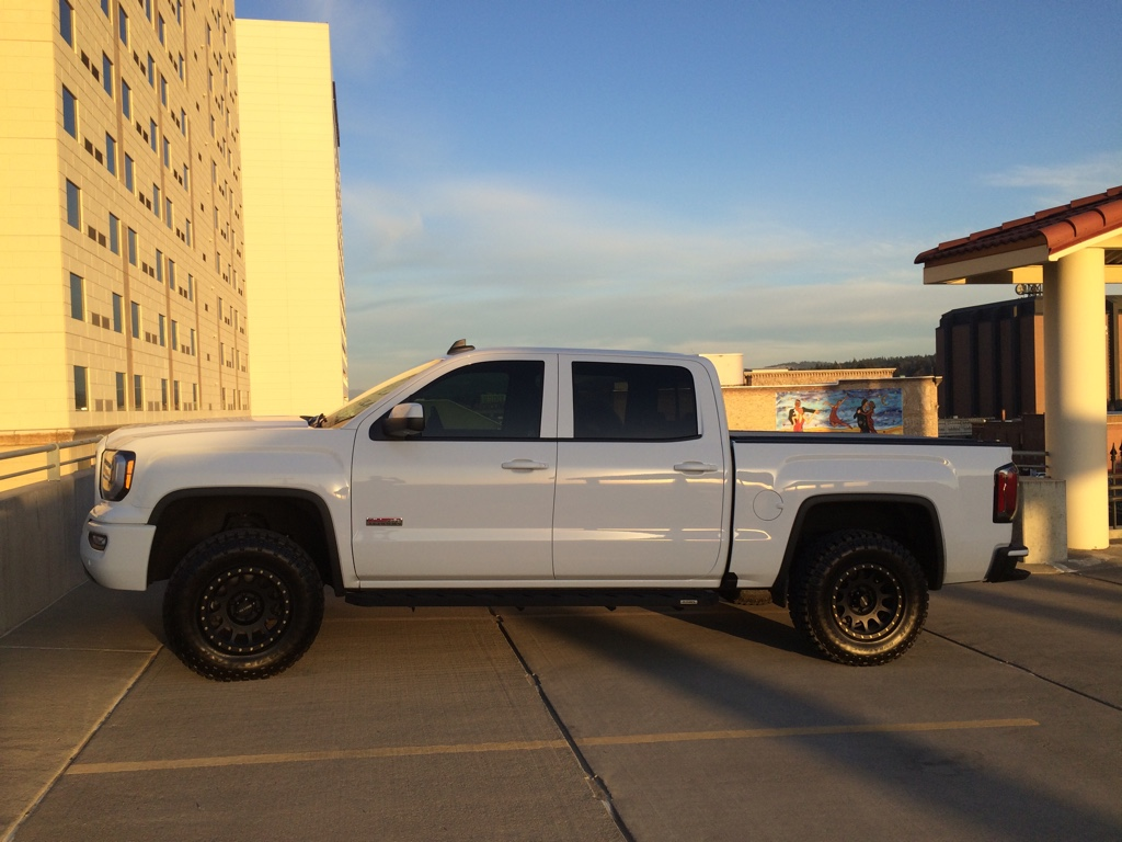 Gmc Vs Chevy >> Iridescent Pearl Tricoat or Summit White - Page 5 - 2014 ...