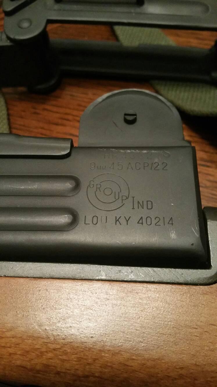 Sold** featureless Vector Arms Uzi Carbine - Modesto