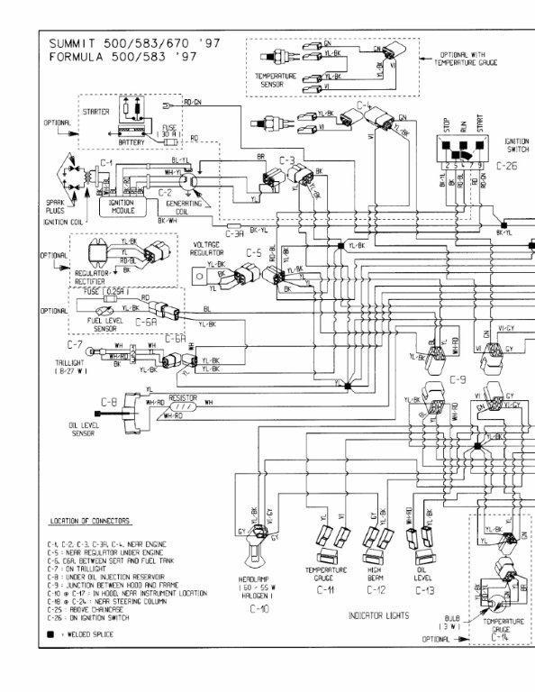 1997 s chis 670 summit wiring diagram Hand Trail Utv Wiring Diagram on