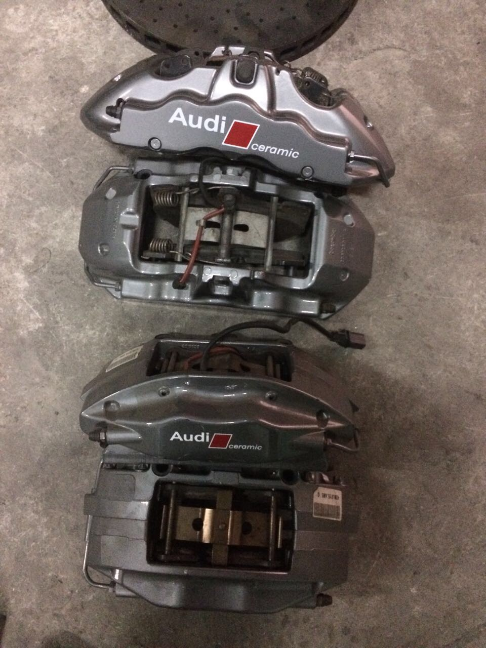 For Sale Oem Audi Rs4 Rs5 R8 Ceramic Brake Calipers Pads