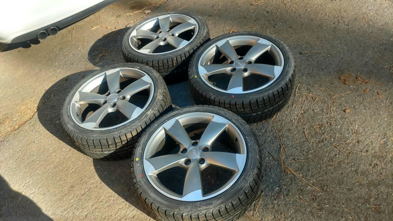 Vwvortexcom Oem Audi A3 18 Rotor Wheels