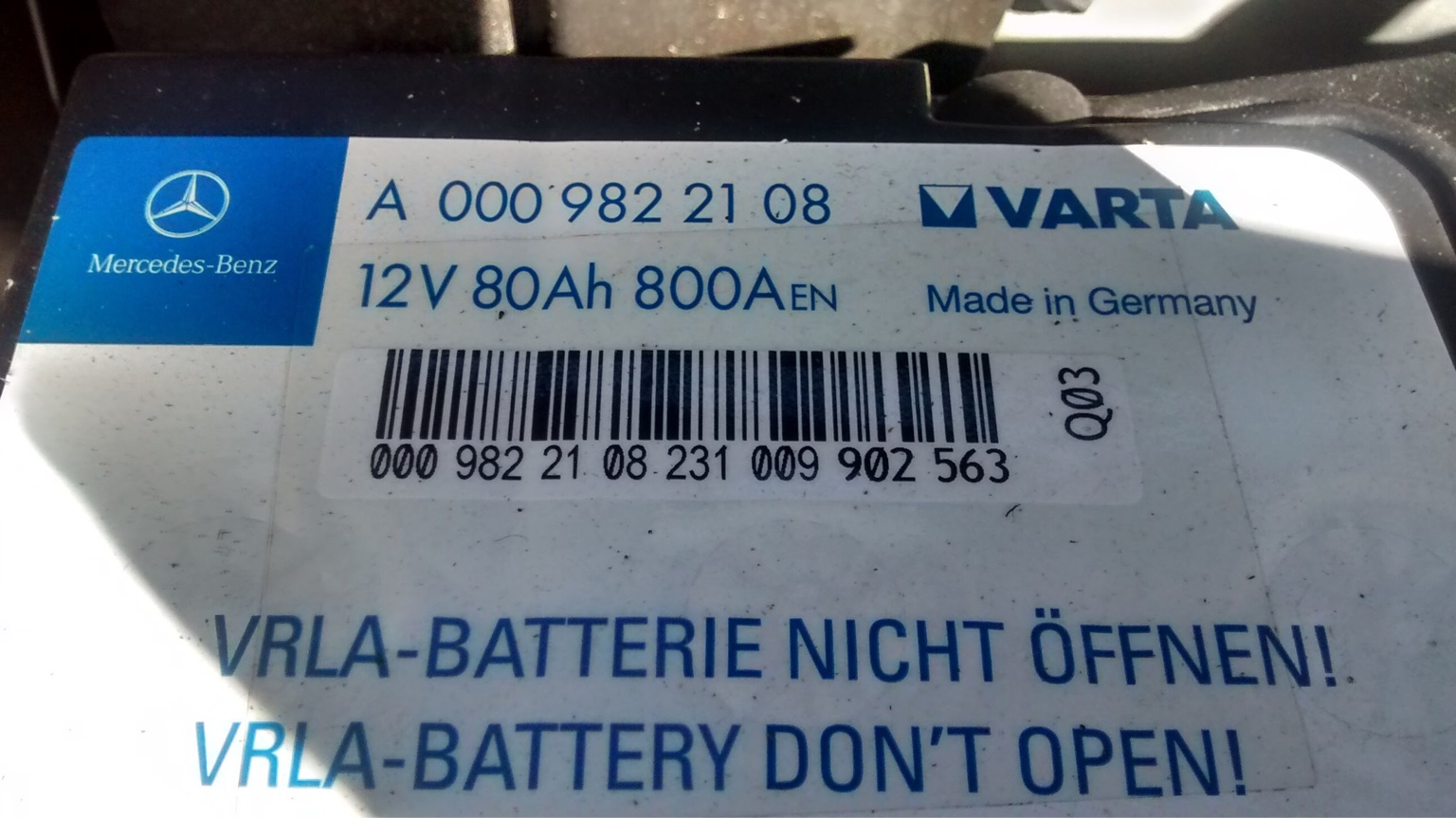 Battery help please | Mercedes-Benz Owners' Forums