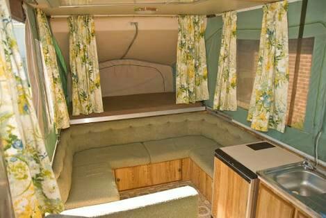 Jayco Swan lounge back rest reno - Caravaners Forum - Since 2000