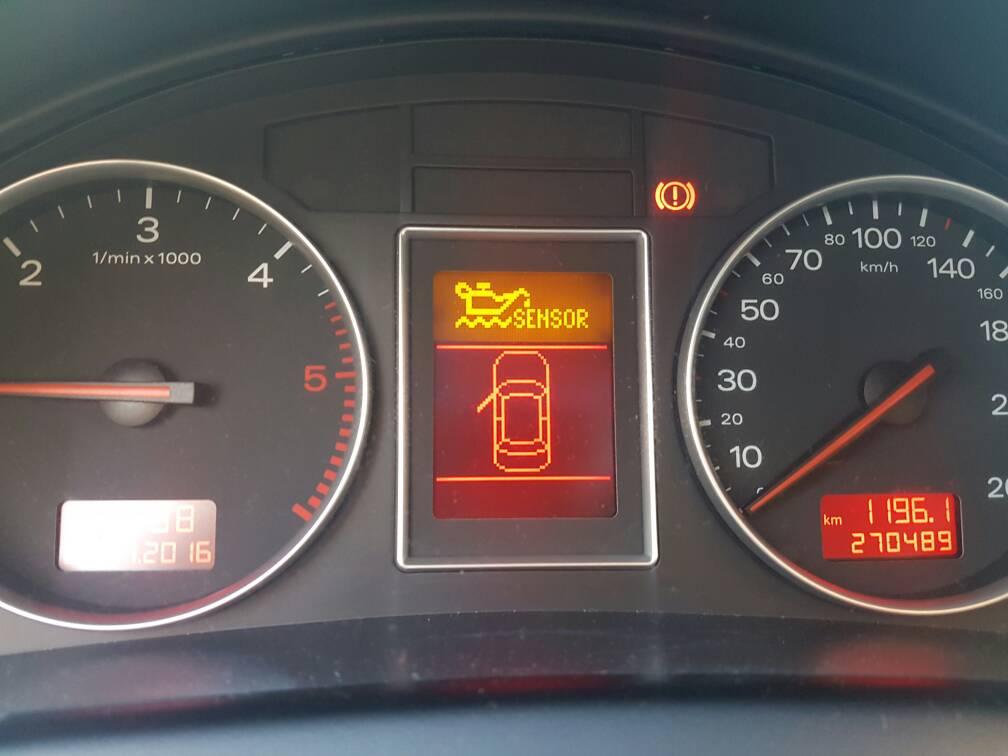 A4 B6 Oil Sensor Mały Problem Raz Jest Raz Nie Ma Audi A4s4rs4