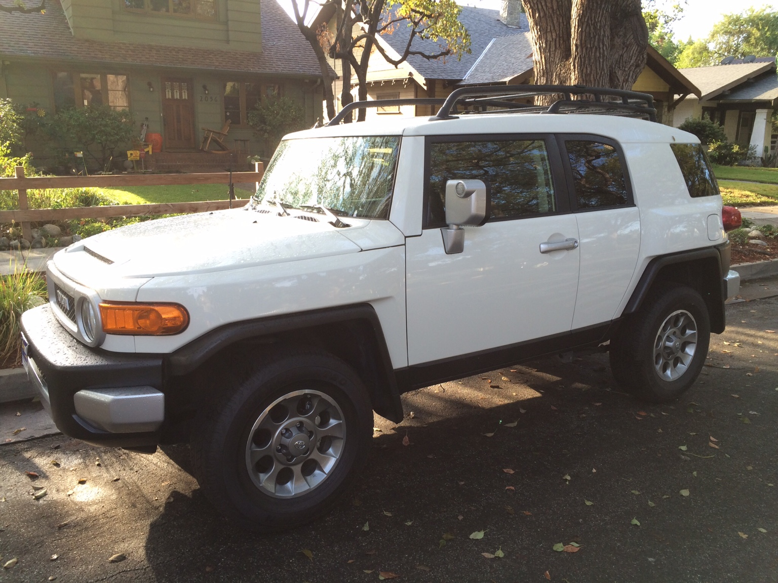 2013 Iceberg 4x4 AT stocker, bought used from Carmax with about 21K on the  odometer with the convenience package and the Rear diff locker.