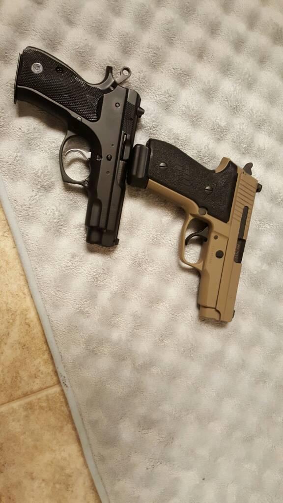 Sig M11-A1 and CZ 75 Compact Reviews/Comparison