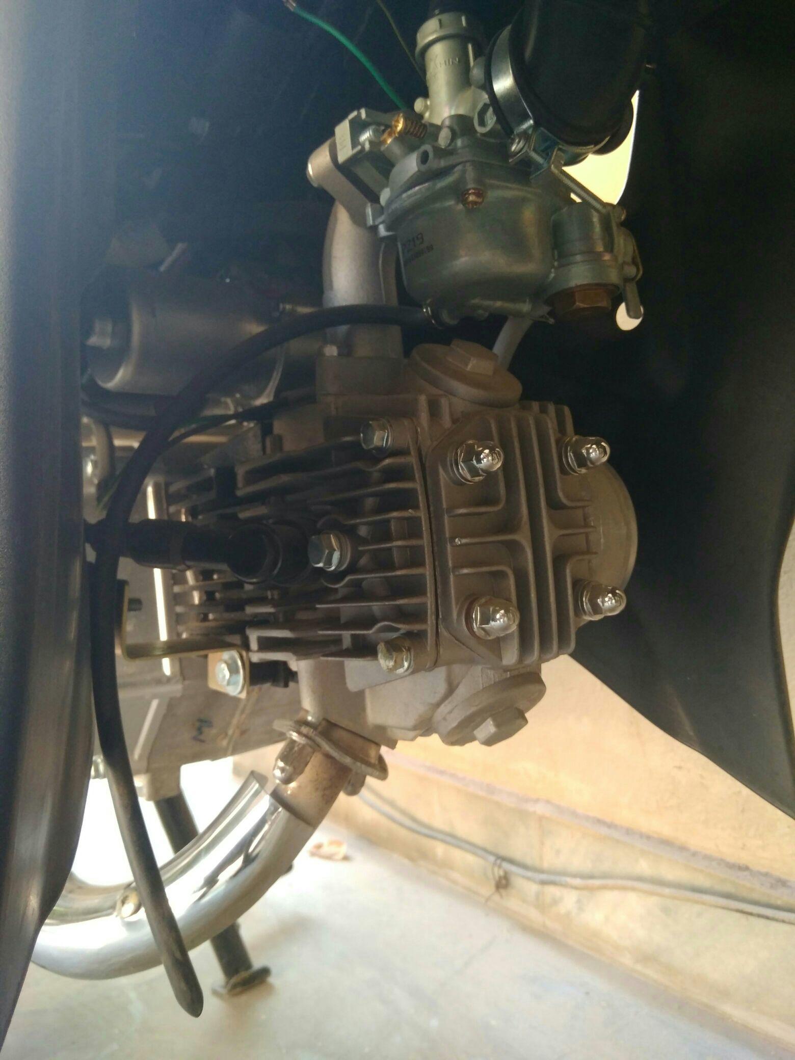 Super power scooty - 30e743e3d2ae3da4b88413856bd56d61