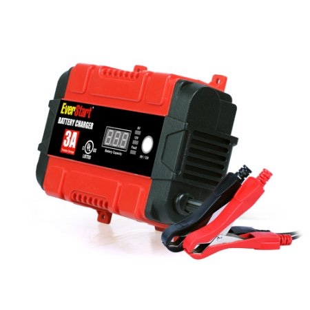 Everstart plus smart charger and maintainer evt3000a