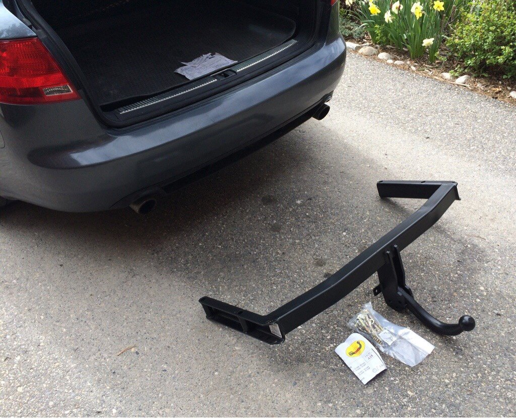 Not sure if this is specific to the Avant or not but the hitch installs to  the factory mount points on the frame from pre-installed holes on either  side of ...