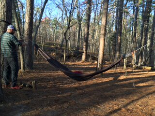 i made a small hammock that i prusiked to my ridgeline  it u0027s smaller than what was pictured earlier but plenty effective  i dig it  diy gear loft help  rh   hammockforums