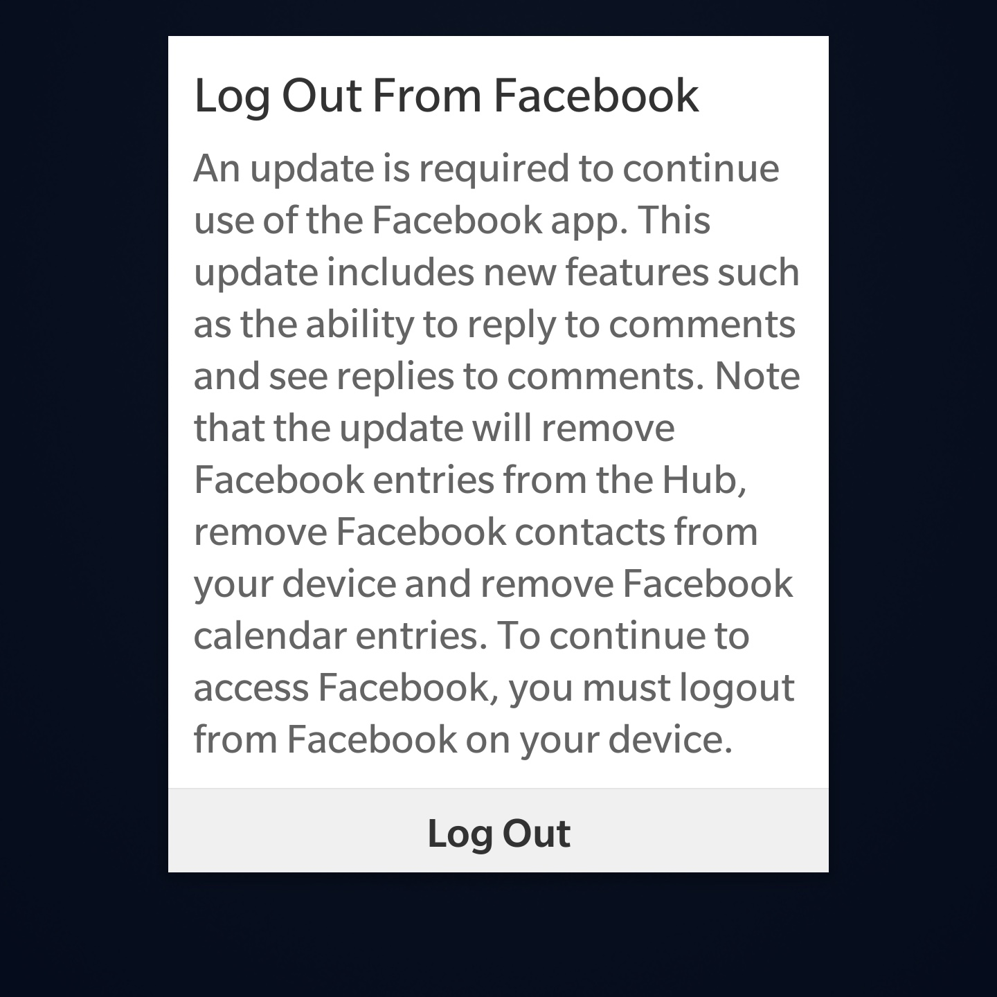 It I Thought I'd Accidentally Updated It When I Saw The New Version As How  To Delete Facebook